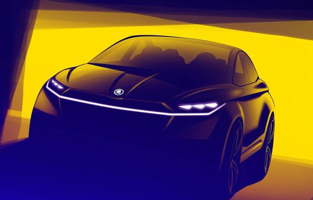 Skoda lansează un nou concept electric: Vision iV debutează la Geneva - Poza 2