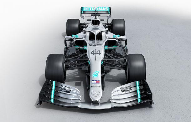 """Primele imagini cu noul monopost Mercedes pentru sezonul 2019: """"Fiecare echipă poate lupta pentru titlu"""" - Poza 2"""