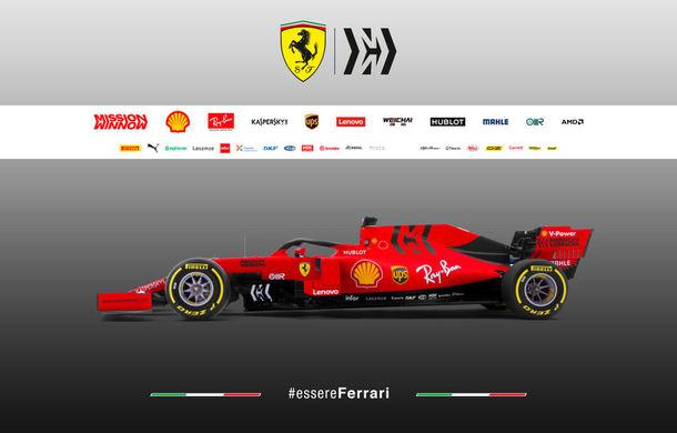"""Ferrari prezintă noul monopost pentru sezonul 2019: """"Este o evoluție a mașinii de anul trecut, nu o revoluție"""" - Poza 6"""