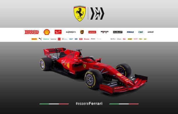 """Ferrari prezintă noul monopost pentru sezonul 2019: """"Este o evoluție a mașinii de anul trecut, nu o revoluție"""" - Poza 7"""