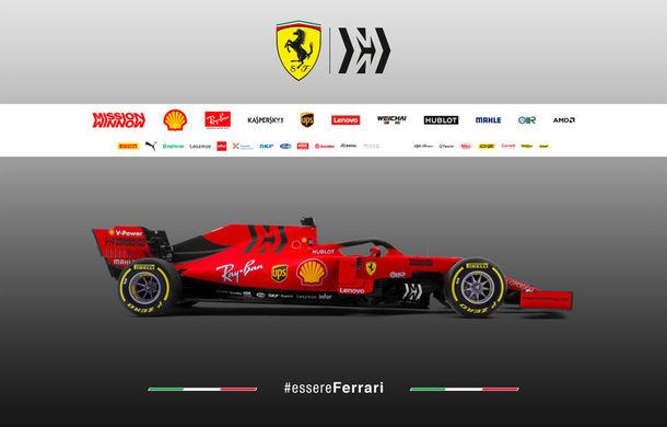 """Ferrari prezintă noul monopost pentru sezonul 2019: """"Este o evoluție a mașinii de anul trecut, nu o revoluție"""" - Poza 4"""