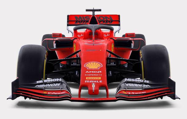 """Ferrari prezintă noul monopost pentru sezonul 2019: """"Este o evoluție a mașinii de anul trecut, nu o revoluție"""" - Poza 1"""