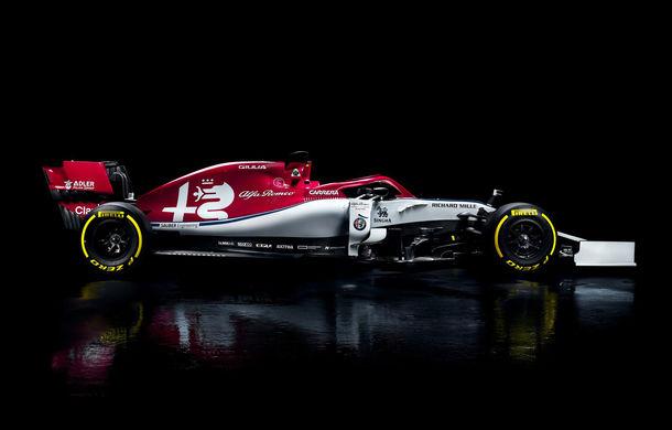 Alfa Romeo prezintă monopostul pentru sezonul 2019: fosta echipă Sauber mizează pe talentul lui Kimi Raikkonen - Poza 1