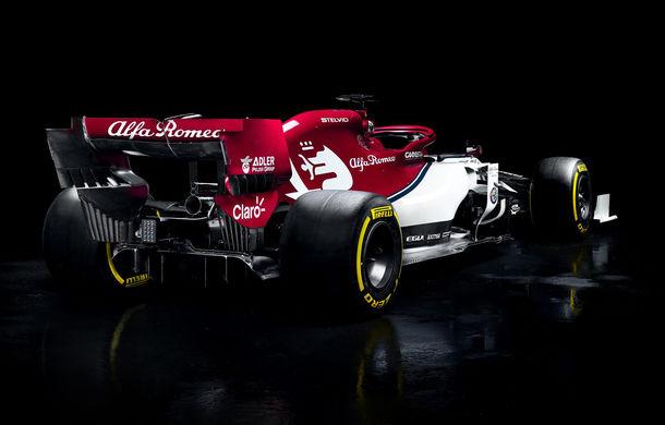 Alfa Romeo prezintă monopostul pentru sezonul 2019: fosta echipă Sauber mizează pe talentul lui Kimi Raikkonen - Poza 3