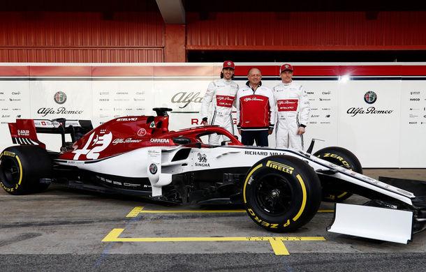 Alfa Romeo prezintă monopostul pentru sezonul 2019: fosta echipă Sauber mizează pe talentul lui Kimi Raikkonen - Poza 2