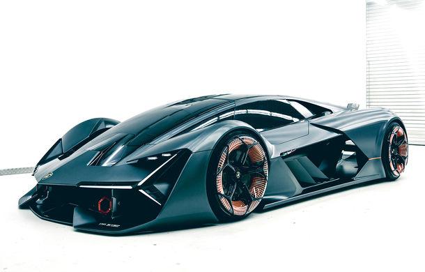 Lamborghini pregătește versiunea de serie pentru conceptul Terzo Millenio: noul model este așteptat în septembrie la Frankfurt - Poza 1