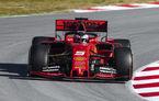 Ferrari începe în forță testele de la Barcelona: Vettel, cel mai rapid și pilotul cu cele mai multe tururi parcurse