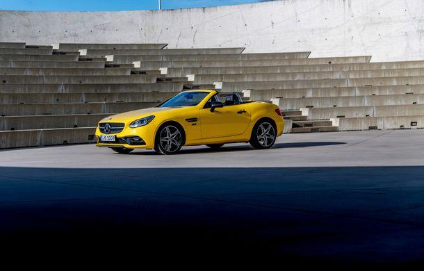 Cântec de lebădă: Mercedes-Benz lansează SLC Final Edition - Poza 2