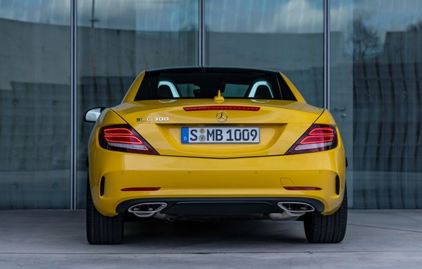 Cântec de lebădă: Mercedes-Benz lansează SLC Final Edition - Poza 11