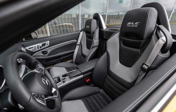 Cântec de lebădă: Mercedes-Benz lansează SLC Final Edition - Poza 15