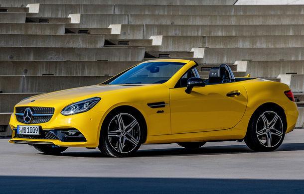 Cântec de lebădă: Mercedes-Benz lansează SLC Final Edition - Poza 1