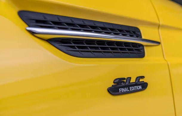 Cântec de lebădă: Mercedes-Benz lansează SLC Final Edition - Poza 14