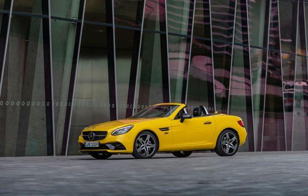 Cântec de lebădă: Mercedes-Benz lansează SLC Final Edition - Poza 4