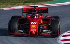 Dominația Ferrari din teste continuă: Leclerc, cel mai bun timp în a doua zi. Accident pentru Red Bull