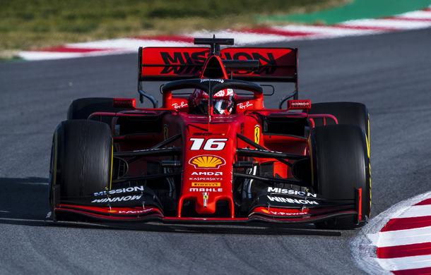 Dominația Ferrari din teste continuă: Leclerc, cel mai bun timp în a doua zi. Accident pentru Red Bull - Poza 1