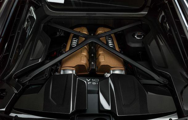 Audi a lansat ediția specială R8 V10 Decennium: 222 de exemplare și preț de 222.000 euro - Poza 10