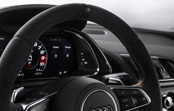 Audi a lansat ediția specială R8 V10 Decennium: 222 de exemplare și preț de 222.000 euro - Poza 5