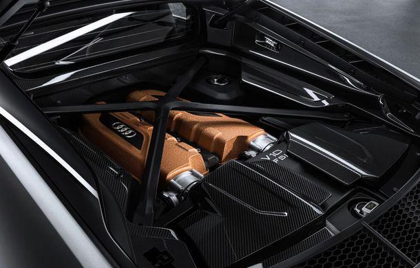 Audi a lansat ediția specială R8 V10 Decennium: 222 de exemplare și preț de 222.000 euro - Poza 9