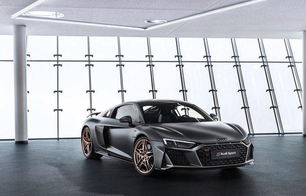 Audi a lansat ediția specială R8 V10 Decennium: 222 de exemplare și preț de 222.000 euro - Poza 1