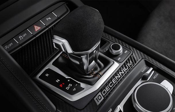 Audi a lansat ediția specială R8 V10 Decennium: 222 de exemplare și preț de 222.000 euro - Poza 4