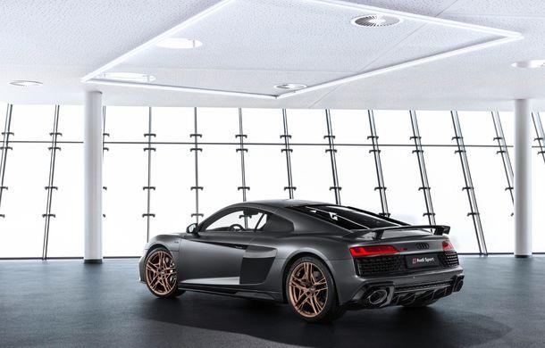 Audi a lansat ediția specială R8 V10 Decennium: 222 de exemplare și preț de 222.000 euro - Poza 13
