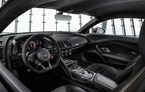 Audi a lansat ediția specială R8 V10 Decennium: 222 de exemplare și preț de 222.000 euro - Poza 6