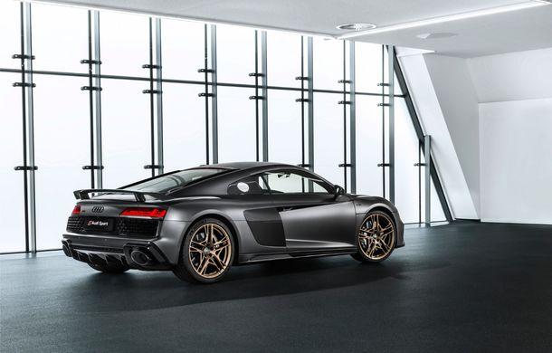 Audi a lansat ediția specială R8 V10 Decennium: 222 de exemplare și preț de 222.000 euro - Poza 15