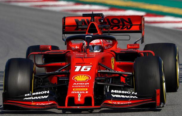 Ferrari, cei mai rapizi în a treia zi de teste de la Barcelona. Accident major pentru Red Bull - Poza 1
