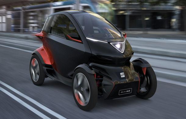 """Cvadriciclul electric Seat Minimo va primi versiune de serie în 2021: """"Va avea aceeași formă, dar alte materiale"""" - Poza 1"""