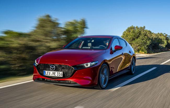 Test drive Mazda 3