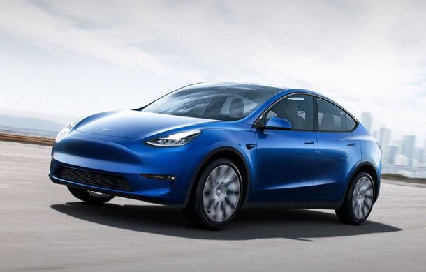 Tesla a prezentat noul Model Y: SUV-ul electric are autonomie de până la 540 de kilometri și tracțiune integrală și apare în 2020 - Poza 1