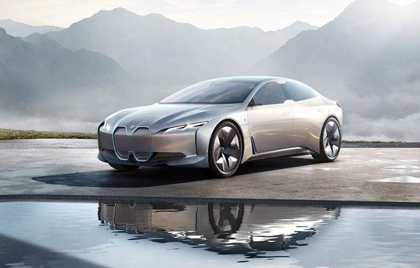 """Designul lui BMW i4 a fost finalizat: rivalul lui Tesla Model 3 va fi """"foarte modern"""" - Poza 1"""