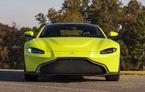 Aston Martin Vantage Roadster se lansează în 2019: modelul va împrumuta motorul de 510 CP de pe versiunea coupe