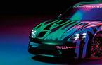 Teasere noi cu viitorul Porsche Taycan: primul model electric dezvoltat de constructorul din Stuttgart va fi prezentat în toamna acestui an