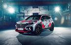 Hyundai promovează noul Tucson N Line într-un mod special: un exemplar a fost transformat în Art Car