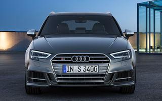 Informații despre viitorul Audi S3 Sportback: motor de 2.0 litri cu 310 CP și sistem de tracțiune integrală quattro
