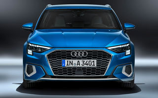 Video. Hot Hatch-ul Audi RS3 Sportback, spionat pe circuitul de la Nurburgring: motorul turbo de 2.5 litri cu cinci cilindri va livra cel puțin 400 CP