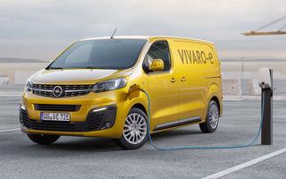 Opel a prezentat versiunea electrică a utilitarei Vivaro: 136 de cai putere și autonomie de până la 330 de kilometri