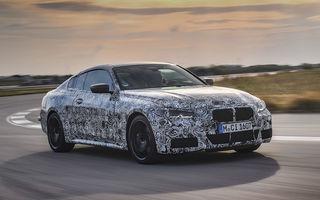 Primele imagini camuflate cu viitoarea generație BMW Seria 4: coupe-ul producătorului german va avea și versiune M440i cu sistem mild-hybrid și 374 CP