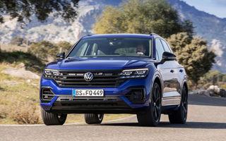 Volkswagen pregătește o versiune GTE pentru actualul Touareg: varianta plug-in hybrid dedicată publicului european ar urma să ofere 367 CP