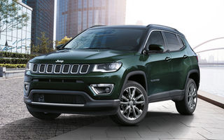 Îmbunătățiri pentru Jeep Compass: motorizare pe benzină de 1.3 litri și versiuni plug-in hybrid de 190 CP și 240 CP