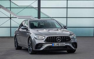 Video. Viitorul Mercedes-AMG E63 facelift, surprins pe Nurburgring: sedanul de performanță va miza în continuare pe motorul V8 de 4.0 litri