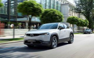 Mazda a demarat producția SUV-ului electric MX-30: livrările pe piața din România încep în toamna acestui an