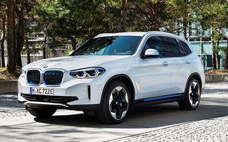 BMW anunță că producția lui iX3 va începe în vara acestui an: SUV-ul electric va avea 286 de cai putere și autonomie de 440 de kilometri