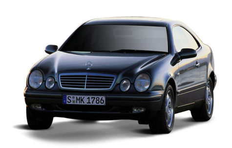 Mercedes-Benz CLK Coupe (2005-2009)