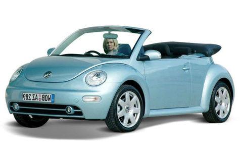 Volkswagen Beetle Cabrio (2008-2011)