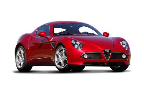 Alfa Romeo 8c Competizione (2007-2009)