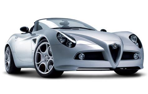 Alfa Romeo 8c Spider (2009-2010)