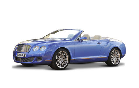 Bentley Continental GTC Speed (2009-2012)