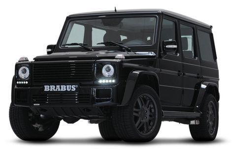Mercedes-Benz Brabus G-Class V12 S Biturbo